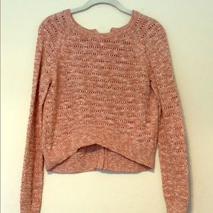 Anthropologie buttoned sweater